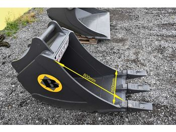 Excavator narrow digging bucket 560 mm - bak voor graafmachines