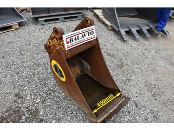 Narrow digging bucket 450 mm - bak voor graafmachines