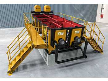 FABO FABO LOG WASHER - WASHING SYSTEM FOR GRAVEL, STONE & SAND - breekmachine