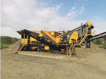 FABO MCK-65 MOBILE CRUSHING & SCREENING PLANT FOR GRANIT - breekmachine