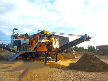 FABO MEY-1645 MOBILE SAND SCREENING & WASHING PLANT - breekmachine