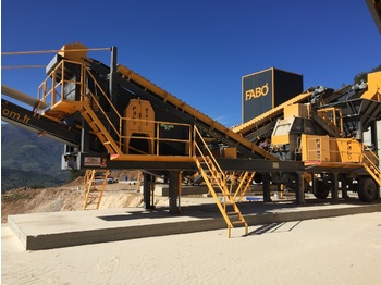 FABO MTK-65 MOBILE CRUSHING PLANT FOR SAND PRODUCTION - breekmachine