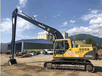 VOLVO EC210B NLC Long reach - sloop graafmachine