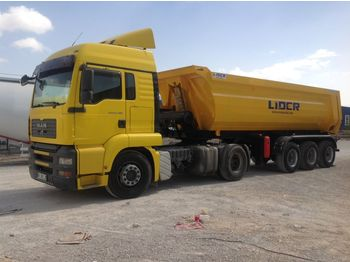 Kipper oplegger LIDER 2020 NEW DIRECTLY FROM MANUFACTURER COMPANY AVAILABLE IN STOCK