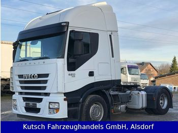 Iveco AS 420 Cube mit Schubbodenhydraulik  - trekker