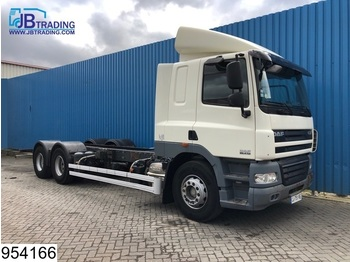 DAF 85 CF 410 6x2, 10 Wheels, EURO 5, Airco - chassis vrachtwagen