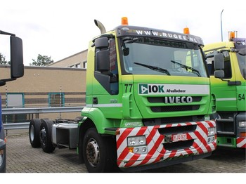 Iveco Stralis Chassis Cabine 6x2 Airco - chassis vrachtwagen