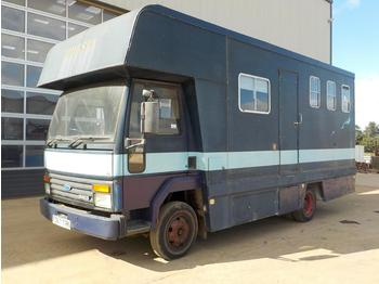 1988 Ford Iveco 4x2 Horse Box, Living Area (Reg. Docs. & Plating Certificate Available) - veewagen vrachtwagen